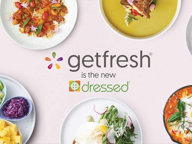"""โฉมใหม่!!!  จาก """"dressed"""" ร้านอาหารรักสุขภาพ สู่แบรนด์ """"getfresh"""""""